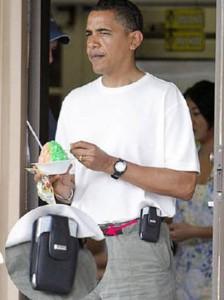 3 pav. Mobilųjį telefoną nešiojasi net prezidentai